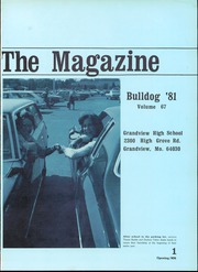 Page 3, 1981 Edition, Grandview High School - Bulldog Yearbook (Grandview, MO) online yearbook collection