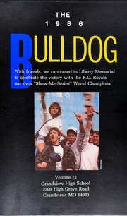 Page 5, 1986 Edition, Grandview High School - Bulldog Yearbook (Grandview, MO) online yearbook collection
