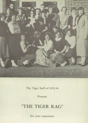 Page 5, 1956 Edition, Waynesville High School - Tiger Yearbook (Waynesville, MO) online yearbook collection