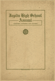Page 1, 1915 Edition, Joplin High School - Joplimo Yearbook (Joplin, MO) online yearbook collection