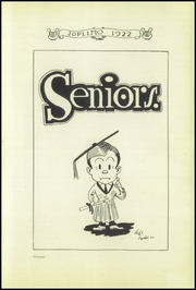Page 13, 1922 Edition, Joplin High School - Joplimo Yearbook (Joplin, MO) online yearbook collection