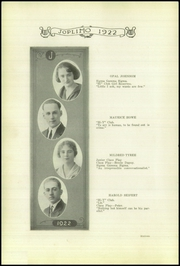Page 16, 1922 Edition, Joplin High School - Joplimo Yearbook (Joplin, MO) online yearbook collection
