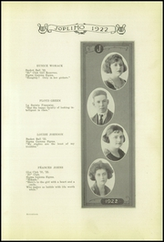 Page 17, 1922 Edition, Joplin High School - Joplimo Yearbook (Joplin, MO) online yearbook collection