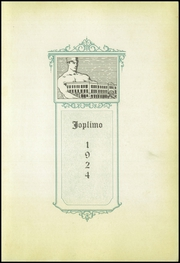 Page 5, 1924 Edition, Joplin High School - Joplimo Yearbook (Joplin, MO) online yearbook collection