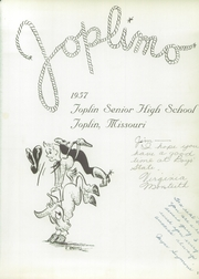 Page 5, 1957 Edition, Joplin High School - Joplimo Yearbook (Joplin, MO) online yearbook collection