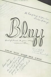Page 7, 1947 Edition, Poplar Bluff High School - Bluff Yearbook (Poplar Bluff, MO) online yearbook collection