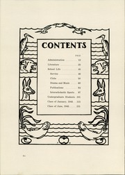 Page 10, 1945 Edition, Southwest High School - Roundup Yearbook (St Louis, MO) online yearbook collection