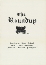 Page 5, 1949 Edition, Southwest High School - Roundup Yearbook (St Louis, MO) online yearbook collection
