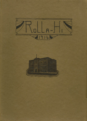 Rolla High School - Growler Yearbook (Rolla, MO) online yearbook collection, 1916 Edition, Page 1
