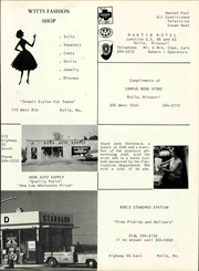 Rolla High School - Growler Yearbook (Rolla, MO) online yearbook collection, 1966 Edition, Page 211