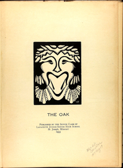Page 5, 1933 Edition, Lafayette High School - Oak Yearbook (St Joseph, MO) online yearbook collection