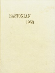 Page 1, 1958 Edition, East High School - Eastonian Yearbook (Kansas City, MO) online yearbook collection