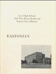 Page 7, 1958 Edition, East High School - Eastonian Yearbook (Kansas City, MO) online yearbook collection