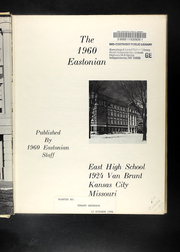 Page 7, 1960 Edition, East High School - Eastonian Yearbook (Kansas City, MO) online yearbook collection