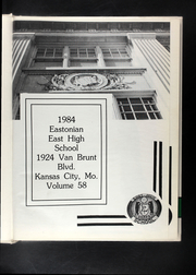Page 5, 1984 Edition, East High School - Eastonian Yearbook (Kansas City, MO) online yearbook collection