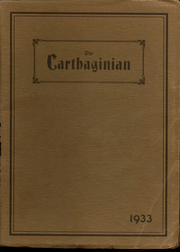Page 1, 1933 Edition, Carthage High School - Carthaginian Yearbook (Carthage, MO) online yearbook collection