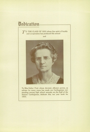 Page 9, 1933 Edition, Carthage High School - Carthaginian Yearbook (Carthage, MO) online yearbook collection