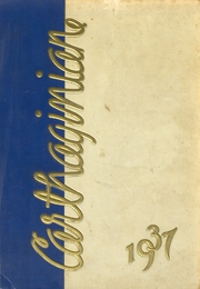 Page 1, 1937 Edition, Carthage High School - Carthaginian Yearbook (Carthage, MO) online yearbook collection