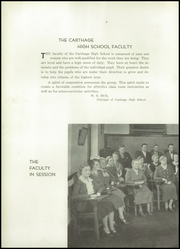 Page 16, 1937 Edition, Carthage High School - Carthaginian Yearbook (Carthage, MO) online yearbook collection