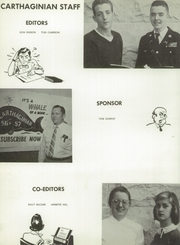 Page 14, 1957 Edition, Carthage High School - Carthaginian Yearbook (Carthage, MO) online yearbook collection