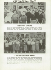 Page 16, 1957 Edition, Carthage High School - Carthaginian Yearbook (Carthage, MO) online yearbook collection