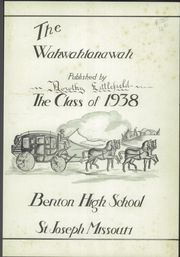 Page 5, 1938 Edition, Benton High School - Wahwahlanawah Yearbook (St Joseph, MO) online yearbook collection