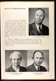 Page 9, 1949 Edition, Benton High School - Wahwahlanawah Yearbook (St Joseph, MO) online yearbook collection