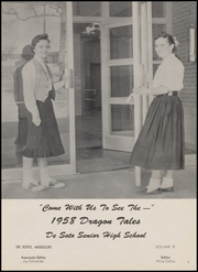 Page 5, 1958 Edition, De Soto High School - Desotonian Yearbook (De Soto, MO) online yearbook collection