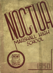 1950 Edition, Marshall High School - Marshaline Yearbook (Marshall, MO)