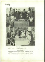 Page 10, 1956 Edition, Vashon High School - Wolverine Yearbook (St Louis, MO) online yearbook collection