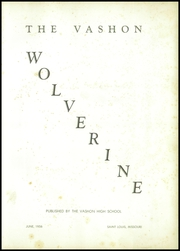 Page 5, 1956 Edition, Vashon High School - Wolverine Yearbook (St Louis, MO) online yearbook collection