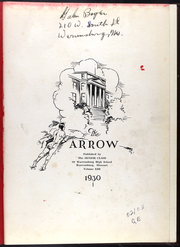 Page 5, 1930 Edition, Warrensburg High School - Arrow Yearbook (Warrensburg, MO) online yearbook collection