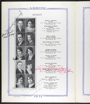 Page 16, 1931 Edition, Warrensburg High School - Arrow Yearbook (Warrensburg, MO) online yearbook collection