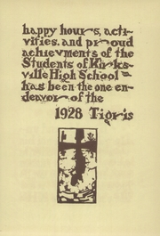 Page 11, 1928 Edition, Kirksville High School - Regit Yearbook (Kirksville, MO) online yearbook collection