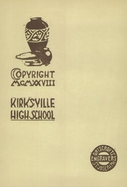Page 6, 1928 Edition, Kirksville High School - Regit Yearbook (Kirksville, MO) online yearbook collection