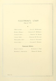 Page 10, 1931 Edition, St Josephs College - Footprints Yearbook (Brooklyn, NY) online yearbook collection