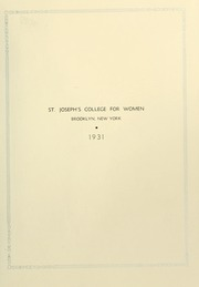 Page 5, 1931 Edition, St Josephs College - Footprints Yearbook (Brooklyn, NY) online yearbook collection