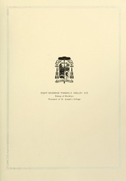 Page 9, 1931 Edition, St Josephs College - Footprints Yearbook (Brooklyn, NY) online yearbook collection