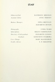 Page 10, 1935 Edition, St Josephs College - Footprints Yearbook (Brooklyn, NY) online yearbook collection