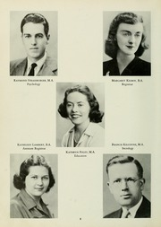 Page 12, 1947 Edition, St Josephs College - Footprints Yearbook (Brooklyn, NY) online yearbook collection