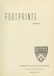 Page 5, 1947 Edition, St Josephs College - Footprints Yearbook (Brooklyn, NY) online yearbook collection