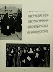 Page 17, 1961 Edition, St Josephs College - Footprints Yearbook (Brooklyn, NY) online yearbook collection