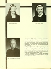 Page 14, 1969 Edition, St Josephs College - Footprints Yearbook (Brooklyn, NY) online yearbook collection