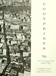 Page 7, 1970 Edition, St Josephs College - Footprints Yearbook (Brooklyn, NY) online yearbook collection