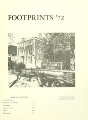 Page 5, 1972 Edition, St Josephs College - Footprints Yearbook (Brooklyn, NY) online yearbook collection