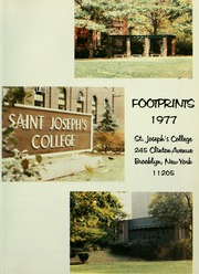 Page 5, 1977 Edition, St Josephs College - Footprints Yearbook (Brooklyn, NY) online yearbook collection