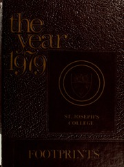 1979 Edition, St Josephs College - Footprints Yearbook (Brooklyn, NY)