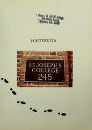 Page 5, 1982 Edition, St Josephs College - Footprints Yearbook (Brooklyn, NY) online yearbook collection
