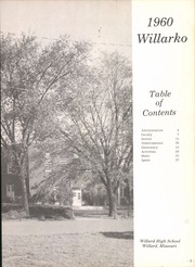 Page 9, 1960 Edition, Willard High School - Willarko Yearbook (Willard, MO) online yearbook collection