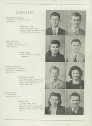 Page 13, 1945 Edition, Dexter High School - Reveille Yearbook (Dexter, MO) online yearbook collection